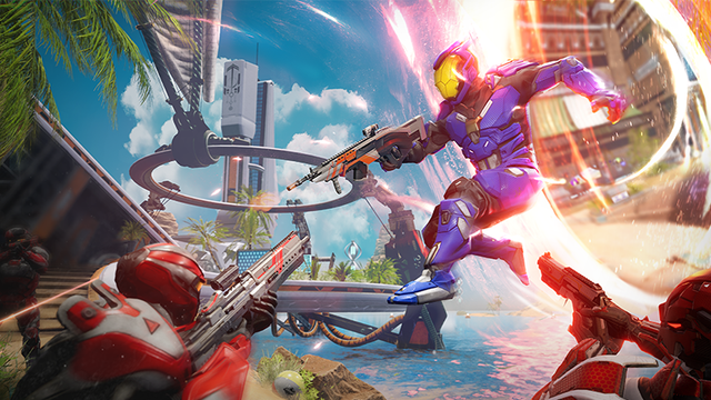 Free download Splitgate, a shooter with tens of thousands of players on Steam - Photo 2.