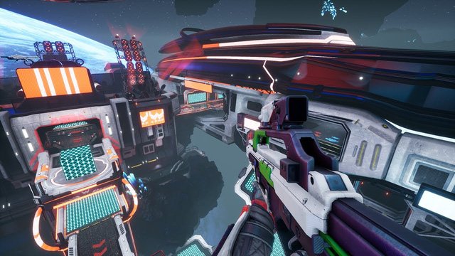 Free download Splitgate, a shooter with tens of thousands of players on Steam - Photo 3.