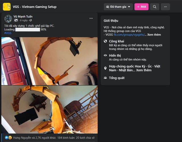 Game thủ Việt tự chế tạo dàn PC Gaming hình bò cạp cực ngầu - Ảnh 3.