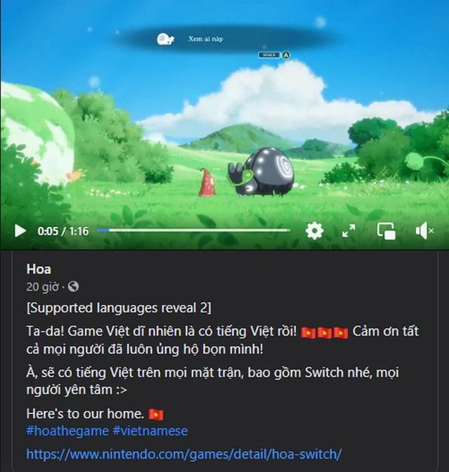 Tựa game thuần Việt - Hoa sẽ phát hành vào ngày 24/8, có sẵn tiếng Việt trên mọi nền tảng - Ảnh 2.