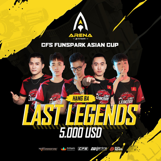 Vượt qua 2 đội Trung Quốc, LAST LEGENDS giành giải 3 tại CFS Funspark Asian Cup - Ảnh 4.