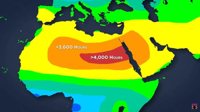 Chuyện gì sẽ xảy ra nếu chúng ta trải pin mặt trời lấp đầy sa mạc Sahara? - Ảnh 1.