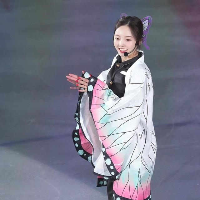 Hết One Piece, AOT, tới lượt Kimetsu no Yaiba được cosplay ở Olympic Tokyo 2020 - Ảnh 11.