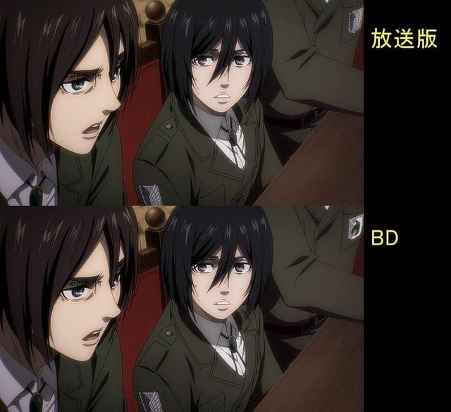 Soi tiếp sự khác biệt giữa bản anime và Blu-ray Attack on Titan, fan khen xem sướng hơn hẳn - Ảnh 2.