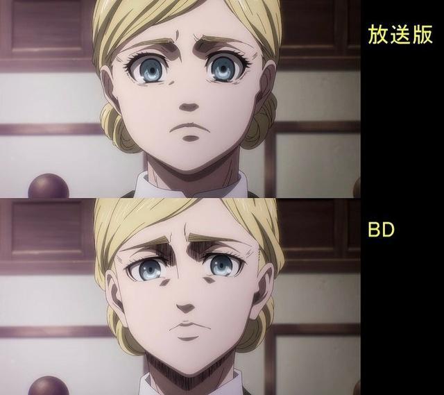 Soi tiếp sự khác biệt giữa bản anime và Blu-ray Attack on Titan, fan khen xem sướng hơn hẳn - Ảnh 6.
