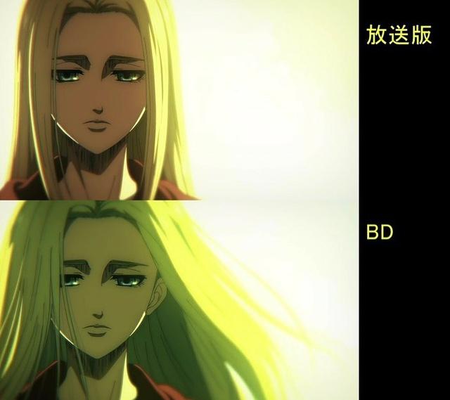 Soi tiếp sự khác biệt giữa bản anime và Blu-ray Attack on Titan, fan khen xem sướng hơn hẳn - Ảnh 7.