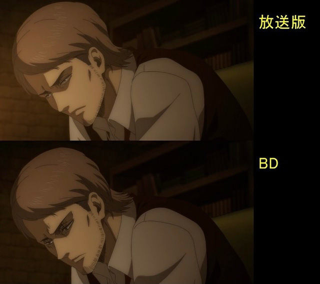 Soi tiếp sự khác biệt giữa bản anime và Blu-ray Attack on Titan, fan khen xem sướng hơn hẳn - Ảnh 11.