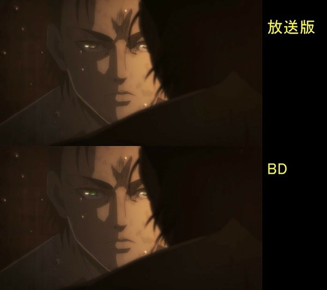 Soi tiếp sự khác biệt giữa bản anime và Blu-ray Attack on Titan, fan khen xem sướng hơn hẳn - Ảnh 12.