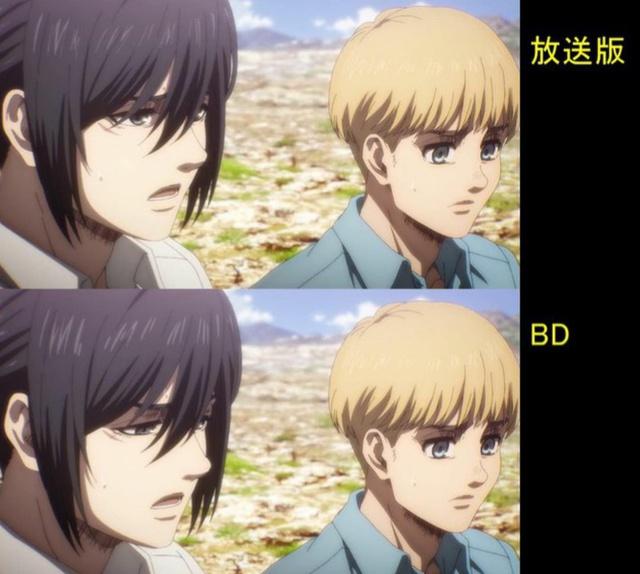 Soi tiếp sự khác biệt giữa bản anime và Blu-ray Attack on Titan, fan khen xem sướng hơn hẳn - Ảnh 17.