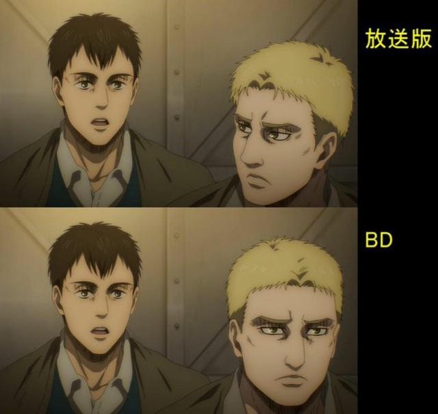 Soi tiếp sự khác biệt giữa bản anime và Blu-ray Attack on Titan, fan khen xem sướng hơn hẳn - Ảnh 19.