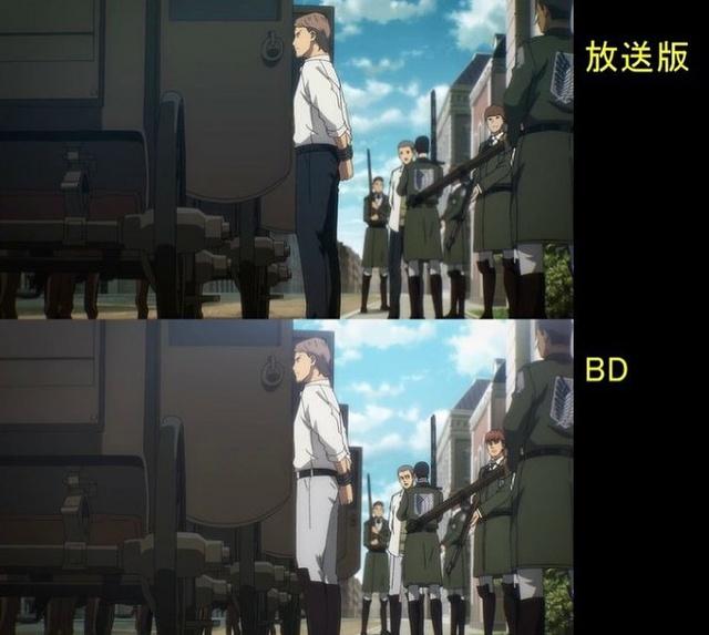 Soi tiếp sự khác biệt giữa bản anime và Blu-ray Attack on Titan, fan khen xem sướng hơn hẳn - Ảnh 21.