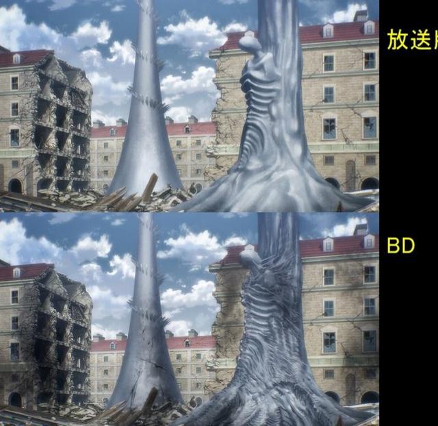 Soi tiếp sự khác biệt giữa bản anime và Blu-ray Attack on Titan, fan khen xem sướng hơn hẳn - Ảnh 26.