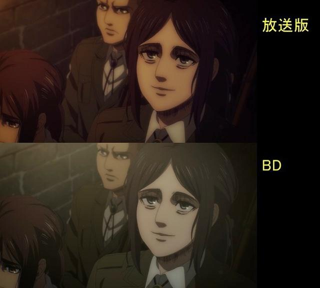 Soi tiếp sự khác biệt giữa bản anime và Blu-ray Attack on Titan, fan khen xem sướng hơn hẳn - Ảnh 28.