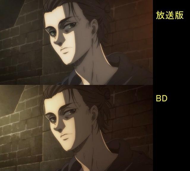 Soi tiếp sự khác biệt giữa bản anime và Blu-ray Attack on Titan, fan khen xem sướng hơn hẳn - Ảnh 30.