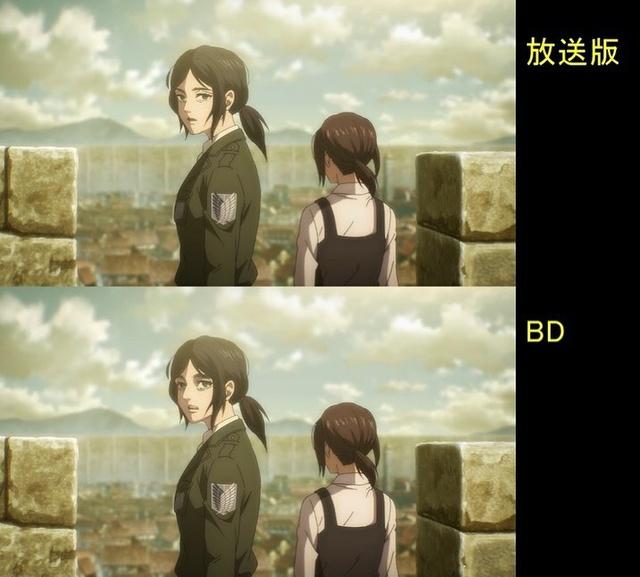 Soi tiếp sự khác biệt giữa bản anime và Blu-ray Attack on Titan, fan khen xem sướng hơn hẳn - Ảnh 31.