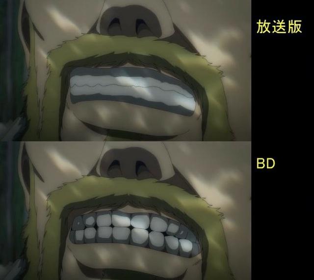 Soi tiếp sự khác biệt giữa bản anime và Blu-ray Attack on Titan, fan khen xem sướng hơn hẳn - Ảnh 32.