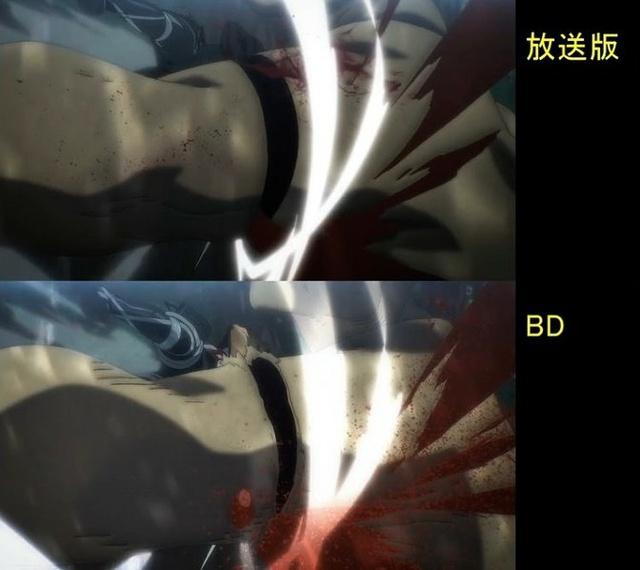 Soi tiếp sự khác biệt giữa bản anime và Blu-ray Attack on Titan, fan khen xem sướng hơn hẳn - Ảnh 34.