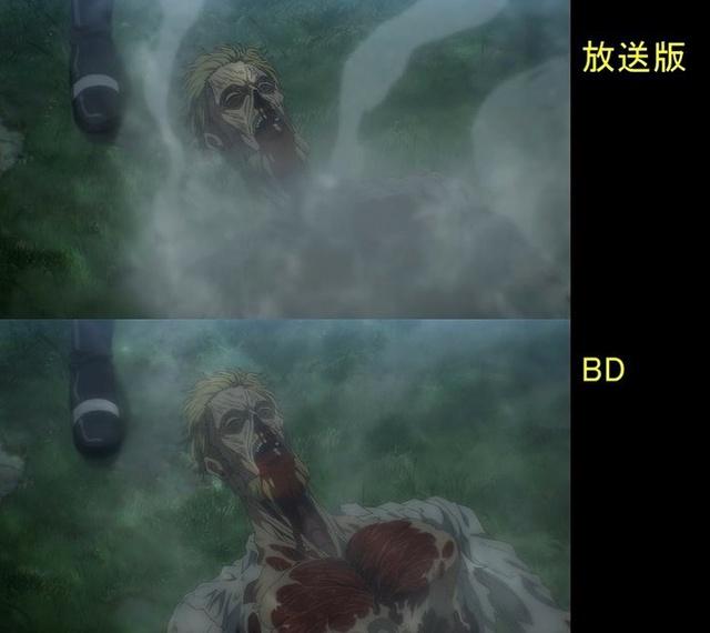 Soi tiếp sự khác biệt giữa bản anime và Blu-ray Attack on Titan, fan khen xem sướng hơn hẳn - Ảnh 36.