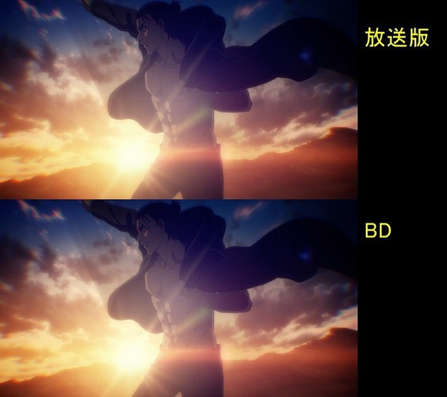 Soi tiếp sự khác biệt giữa bản anime và Blu-ray Attack on Titan, fan khen xem sướng hơn hẳn - Ảnh 40.