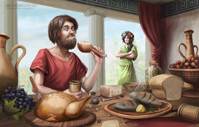 5 câu chuyện kỳ quặc trong thần thoại Hy Lạp Erysichthon-1630485991261865679921