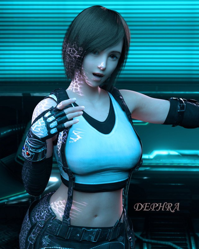 Sống lại trào lưu chế Tifa tóc ngắn, các fan của Final Fantasy phát sốt khi thấy nữ thần với nhan sắc cực phẩm - Ảnh 3.