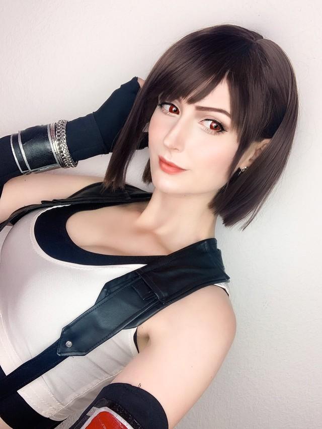 Sống lại trào lưu chế Tifa tóc ngắn, các fan của Final Fantasy phát sốt khi thấy nữ thần với nhan sắc cực phẩm - Ảnh 15.