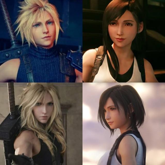 Sống lại trào lưu chế Tifa tóc ngắn, các fan của Final Fantasy phát sốt khi thấy nữ thần với nhan sắc cực phẩm - Ảnh 16.