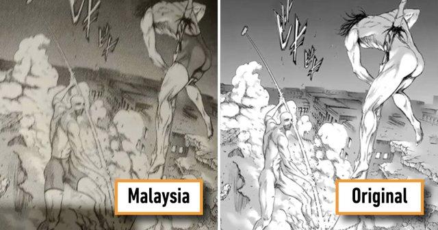 Cười té ghế trước loạt ảnh Titan mặc quần áo khi Attack on Titan xuất bản ở Malaysia - Ảnh 8.