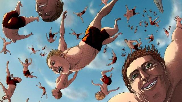 Cười té ghế trước loạt ảnh Titan mặc quần áo khi Attack on Titan xuất bản ở Malaysia - Ảnh 2.