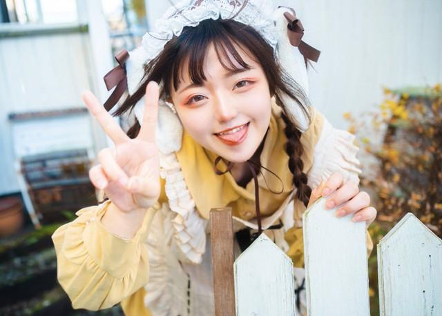 Nữ coser Gen Z Nhật Bản khiến fan ngất ngây với nhan sắc xinh đẹp tuyệt trần, càng ngắm càng mê mẩn - Ảnh 1.