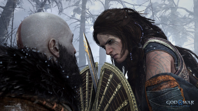 God of War Ragnarok released the first trailer, Kratos facing the Norse god of war - Photo 3.