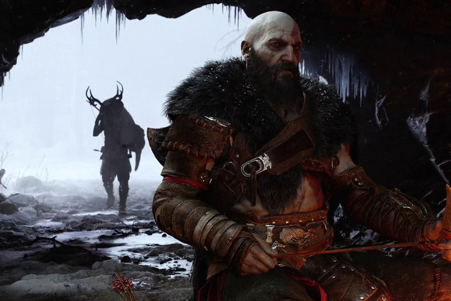 God of War Ragnarok released the first trailer, Kratos facing the Norse god of war - Photo 4.