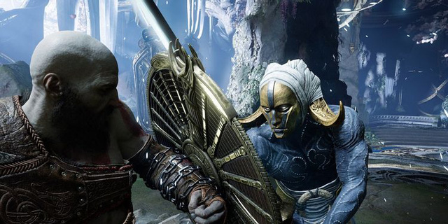 God of War Ragnarok released the first trailer, Kratos facing the Norse god of war - Photo 6.
