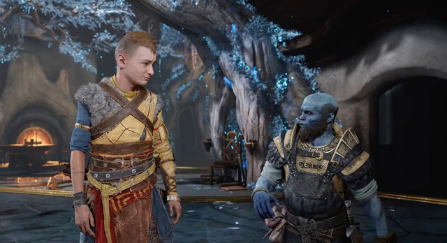 God of War Ragnarok released the first trailer, Kratos facing the Norse god of war - Photo 8.