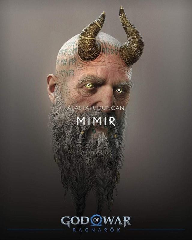 Thor bụng phệ xuất hiện trong God of War Ragnarok - Ảnh 3.