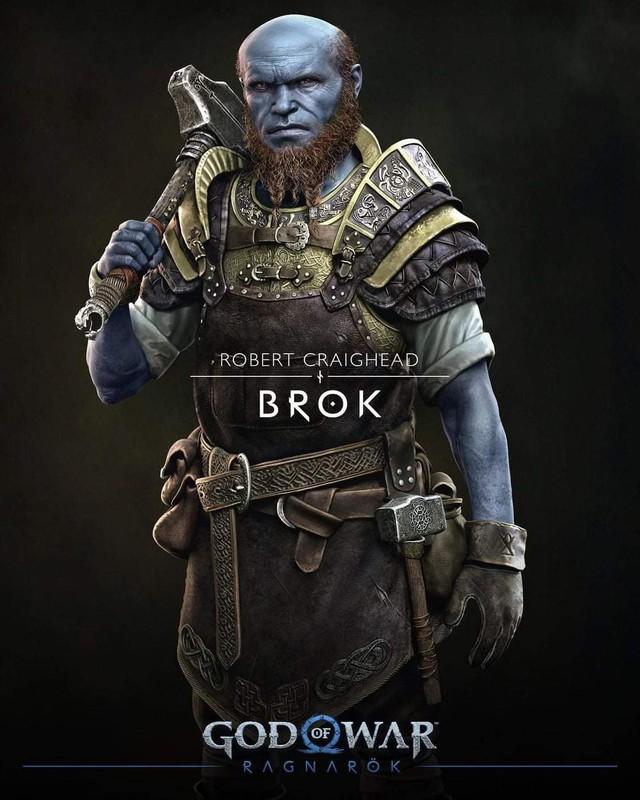 Thor bụng phệ xuất hiện trong God of War Ragnarok - Ảnh 4.