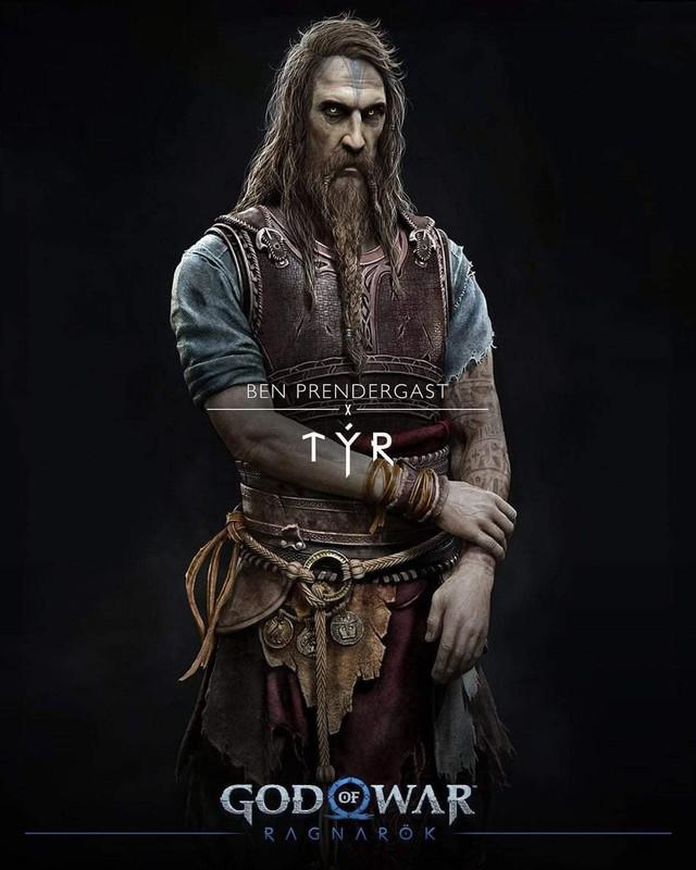Thor bụng phệ xuất hiện trong God of War Ragnarok - Ảnh 7.