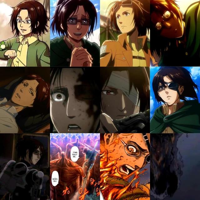 Nhìn lại hành trình lột xác của dàn nhân vật Attack on Titan, người đã có con kẻ thì xanh cỏ - Ảnh 15.