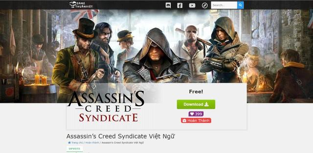 Sau 6 năm, Assassins Creed Syndicate đã có bản Việt hóa hoàn chỉnh - Ảnh 3.