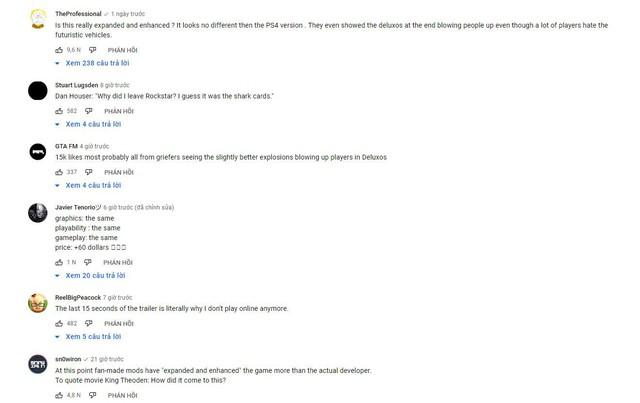Vừa ra mắt trên PS5, GTA V đã bị ném đá, chửi bới xối xả - Ảnh 3.