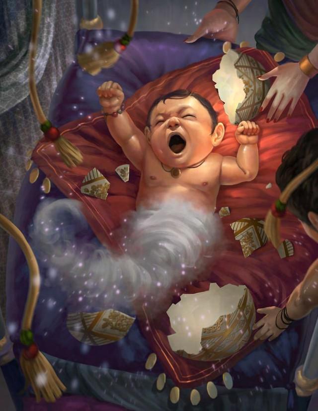Sinh vật thần thoại khi còn bé đáng yêu cỡ nào Photo-21-16313507109131501325568