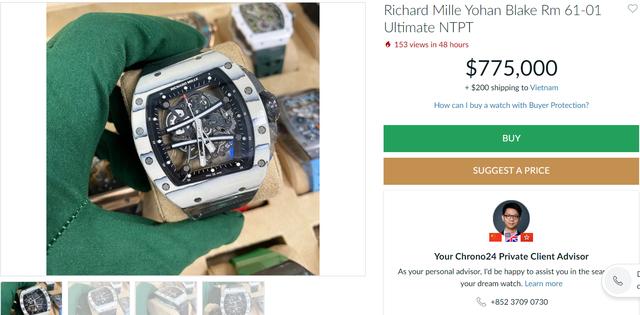 Doinb khiến cộng đồng mạng sốc nặng khi khoe chiếc đồng hồ đeo tay trị giá hơn... 17,6 tỷ đồng - Ảnh 3.