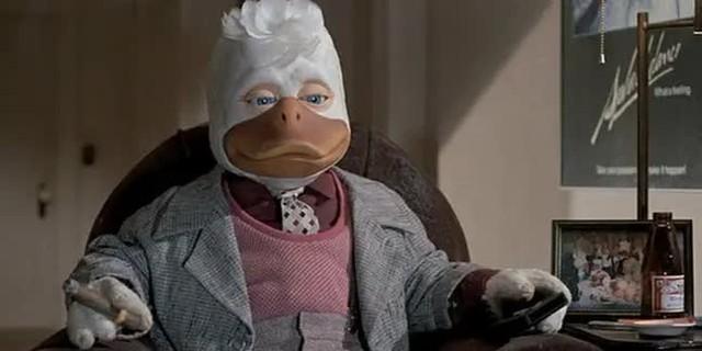 Bộ phim đầu tiên của Marvel và cũng là bộ phim dở tệ nhất của Marvel có tên là Howard the Duck Photo-1-1631410785152213968834