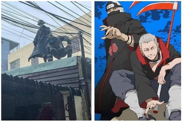Các fan Naruto thích thú với hình ảnh Itachi và Kisame về thăm làng phiên bản người thật việc thật - Ảnh 8.