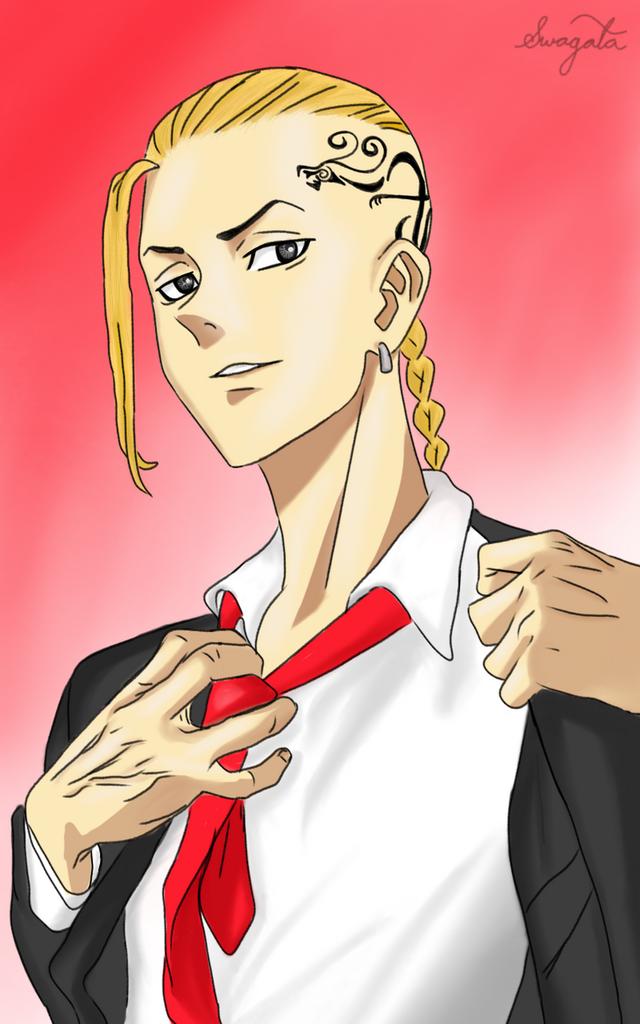 Tokyo Revengers: Phó tổng trưởng băng Toman quá ngầu và bảnh qua loạt fanart siêu có tâm từ cộng đồng fan - Ảnh 7.
