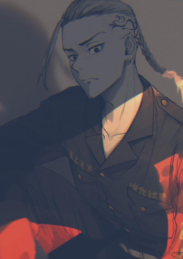 Tokyo Revengers: Phó tổng trưởng băng Toman quá ngầu và bảnh qua loạt fanart siêu có tâm từ cộng đồng fan - Ảnh 18.