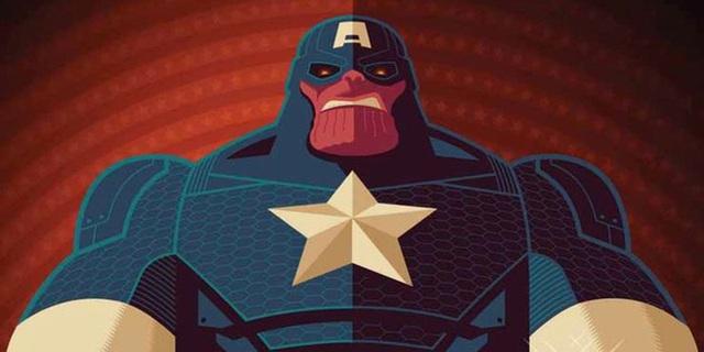 Sẽ ra sao nếu Thanos trở thành Captain America, kết hợp với Darkseid hay trở thành một vị vua già? - Ảnh 1.
