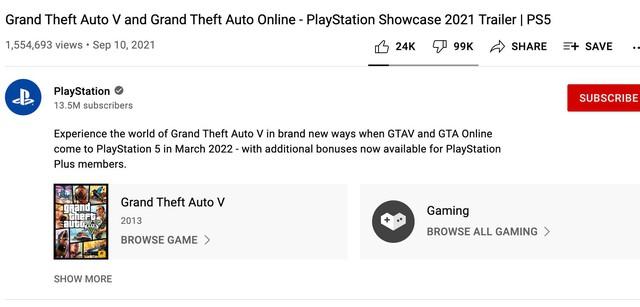 Đoạn giới thiệu GTA V trên PS5 trở thành trailer tệ nhất lịch sử series - Ảnh 1.