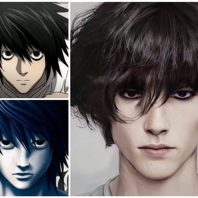 Giật mình khi thấy dàn nhân vật Death Note được vẽ theo phong cách người thật, Kira quá xuất sắc! - Ảnh 1.