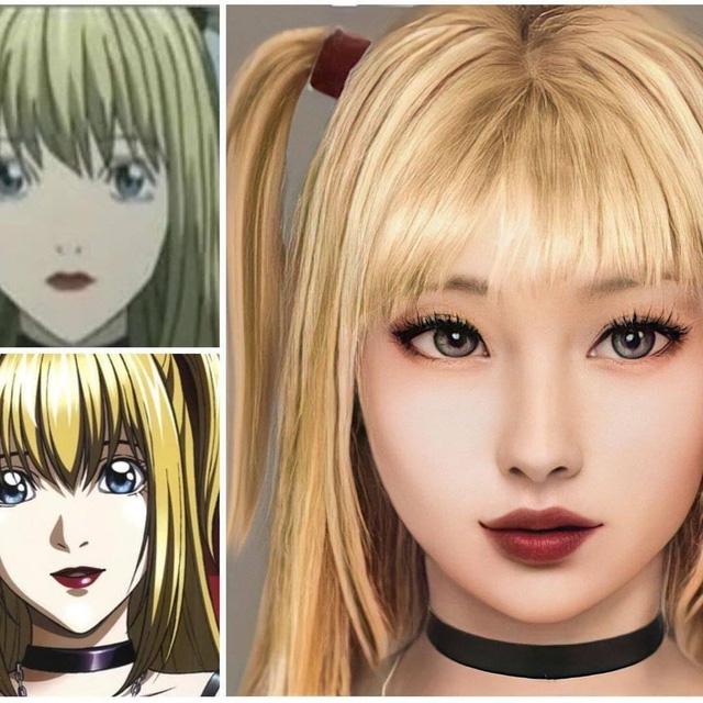 Giật mình khi thấy dàn nhân vật Death Note được vẽ theo phong cách người thật, Kira quá xuất sắc! - Ảnh 3.
